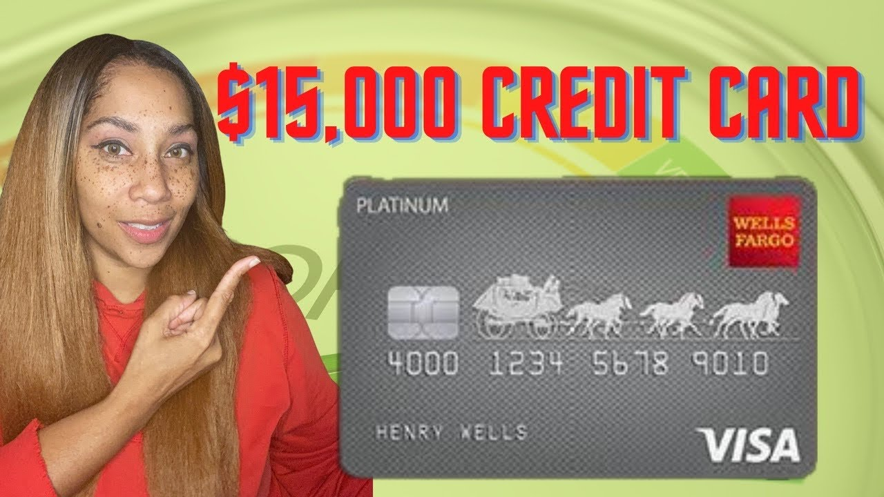 $15,000 Wells Fargo Platinum Credit Card with Soft Pull Pre-Approval!